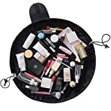 Makeup Bag/Travel Cute Cosmetic Pouch Storage/Brush Holder Toiletry Kit Fashion Women and Girl Waterproof Jewelry Organizer with Zipper Pencil Carry Case Portable Cube Purse