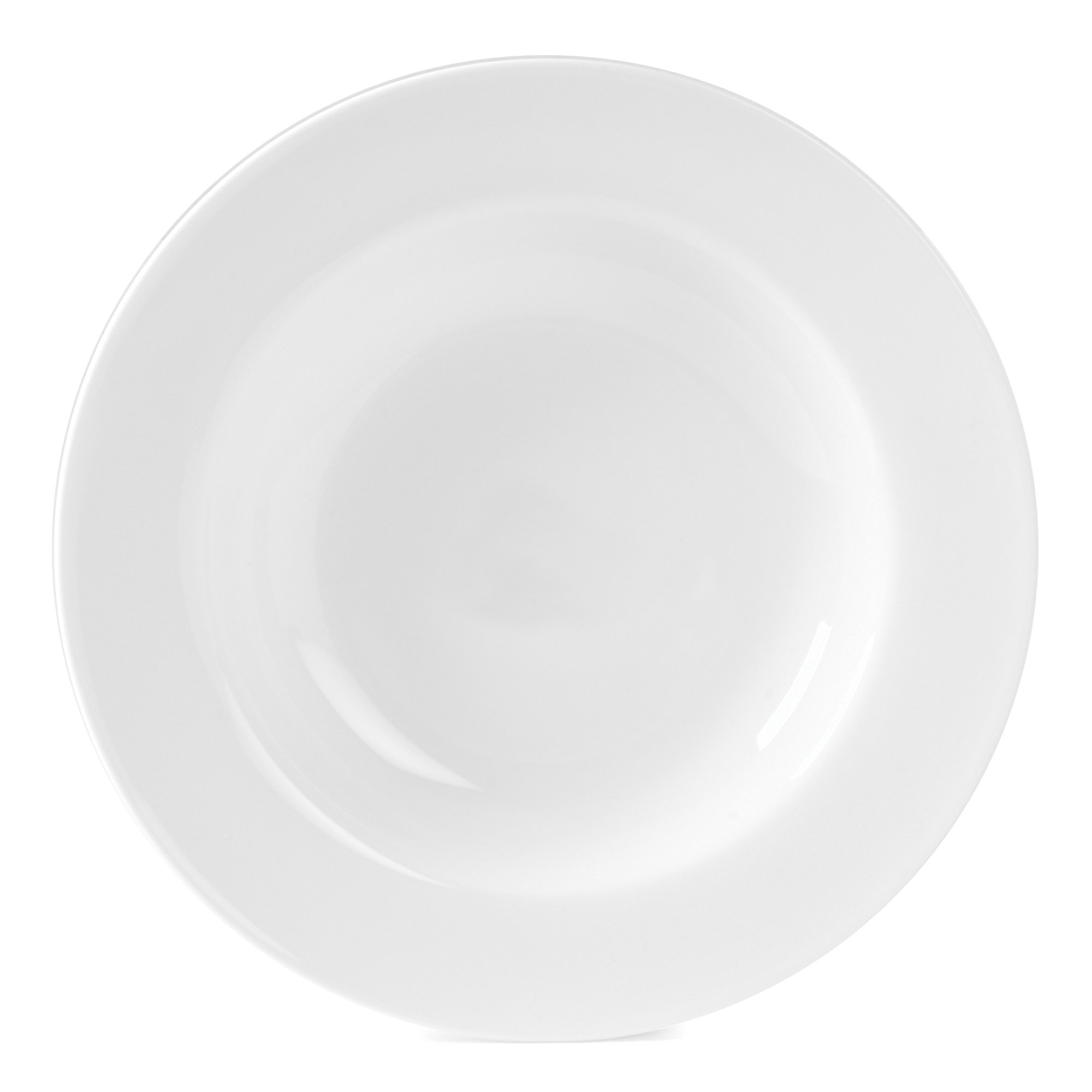 Gourmet Whiteware Collection, Rim Soup Bowl