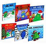 Mr. Men Christmas Childrens Collection 6 Books Set Pack New (Mr. Men Christmas Pantomime, Mr. Men the Christmas Tree, Mr. Men: A White Christmas, Mr Men The Christmas Party, Mr. Men a Christmas Holiday, Mr. Christmas -Sparkly Mr. Men Stories)