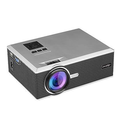 Proyector, Mini Proyector UHAPPY u88 Mini Proyector LED HDMI HD ...