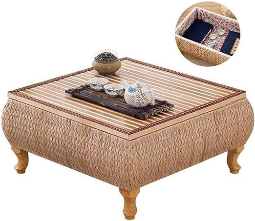 Mesa De Centro De Estilo Japonés Mesa De Mimbre Tatami Café Salón ...