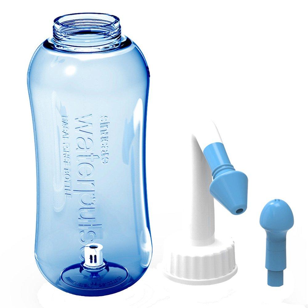 300 ml Nasal Wash Bottle, Nasal Rinsing Allergy /Dry Nose/Allergic Rhinitis Nasal Cleanser for Nasal Shower Children and Adults vientiane