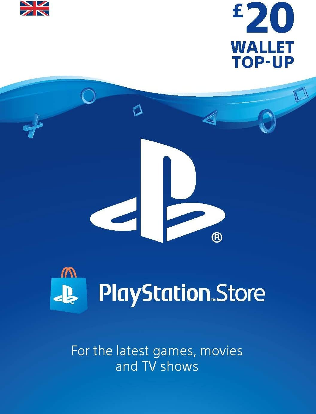 Playstation Psn Card 10 Gbp Wallet Top Up Psn Download Code Uk