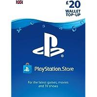 PlayStation PSN Card 20 GBP Wallet Top Up | PSN Download Code - UK account