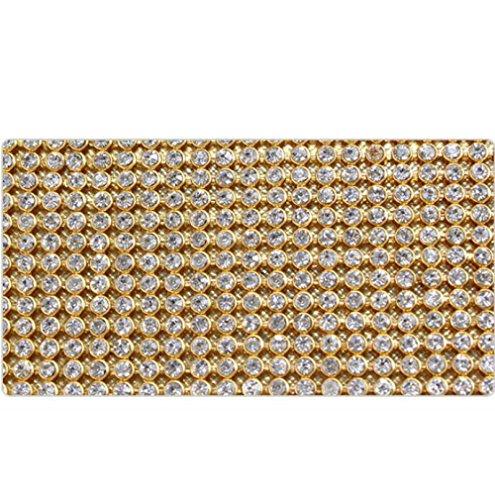 Sac Main Mode Chaîne Gold DHFUD Atmosphère En Simple PU Dîner Diamant Sac à PE6qwUYZ