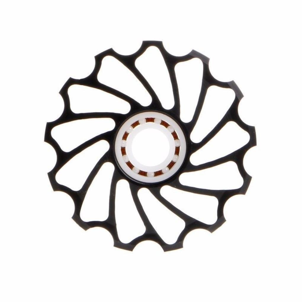 Creazy 13T MTB Ceramic Bearing Jockey Wheel Pulley Road Bike Bicycle Rear Derailleur