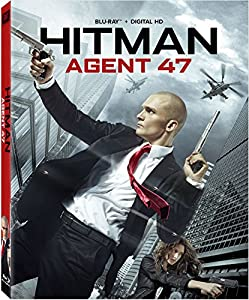 Cover Image for 'Hitman: Agent 47 Blu-ray'