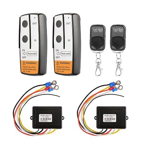 Amazon com: XCSOURCE 2pcs Wireless Remote Control + 2pcs Keyfob