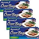 reynolds large oven bags - Reynolds Oven Cooking Bags-Large Size for Meats & Poultry (up to 8-Pounds), 5 Count Boxes (Pack of 4) 20 Bags Total