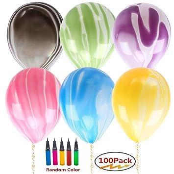 Amazon.com: Globos y bomba de globos y clip de globo para ...