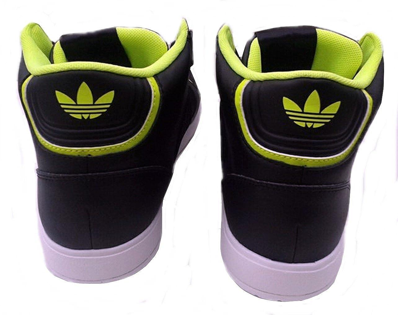 adidas Midiru court 2.0 Trefoil W, Sneaker donna Nero Noir et vert 36 2/3
