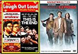 Wild Comedy Seth Rogan Movie Set: Pineapple Express + Interview & This is The End 3-DVD Triple Feature Bundle