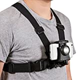 Mobile Phone Chest Mount Harness Strap Holder Cell Phone Clip action Camera POV