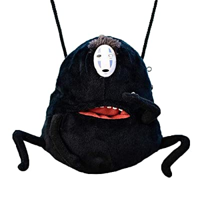 "Totoro 6"" Spirited Away No Face Man Plush Stuffed Animal Mini Coin Purse Shoulder/Crossbody Bag: Toys & Games [5Bkhe0505917]"
