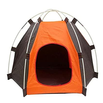 Amazon com: SUSHENG Backpacking Tents Outdoor Pup Tent Dog House Pet