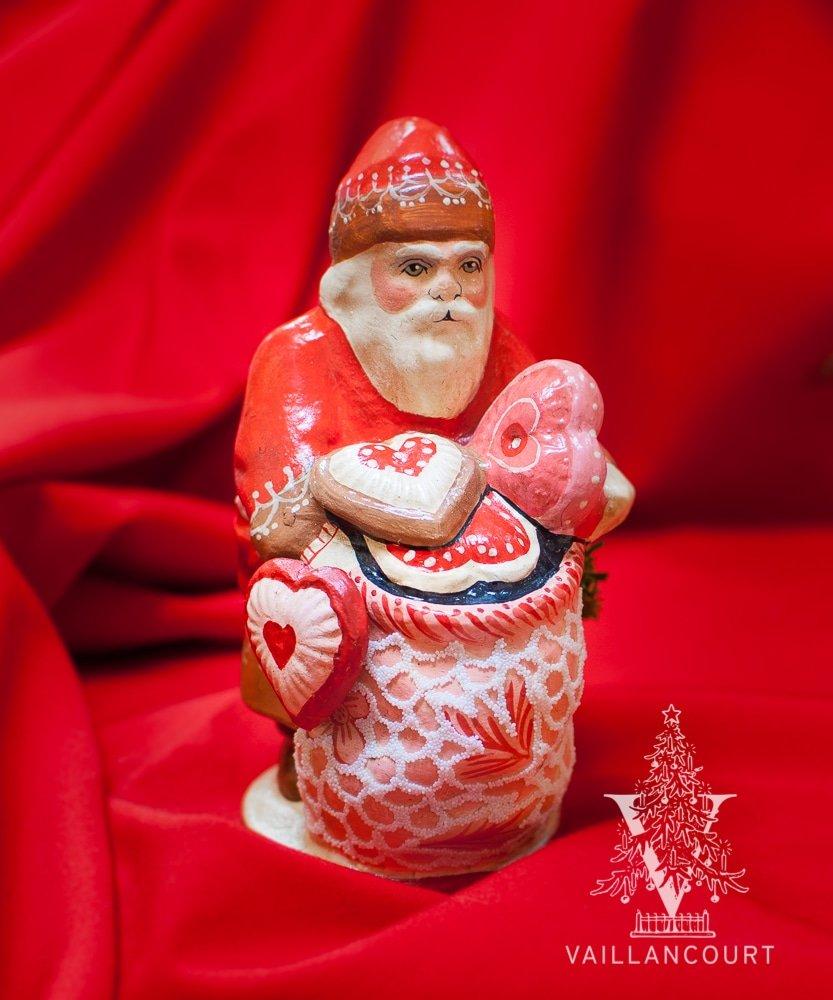 Santa with Sack of Valentines