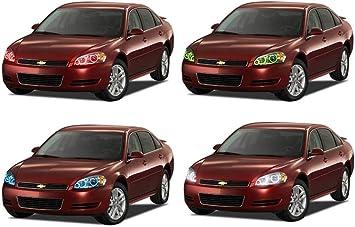LED Headlight Halo Ring RGB Multi-Color Kit for Chevrolet Impala 00-05
