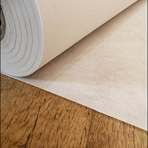 WHITE Medium weight fusible iron on interfacing sold by the metre 70cm wide