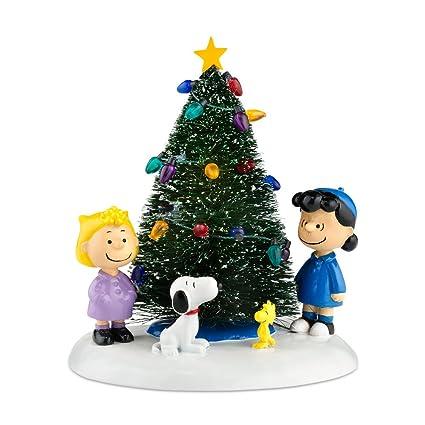 department 56 peanuts village o christmas tree accessory figurine - Department 56 Peanuts Christmas