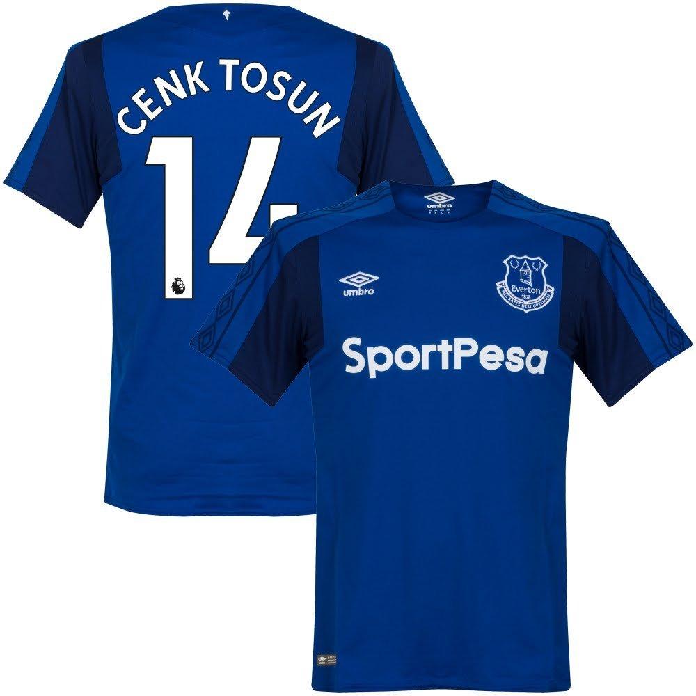 Everton Home Trikot 2017 2018 + Cenk Tosun 14