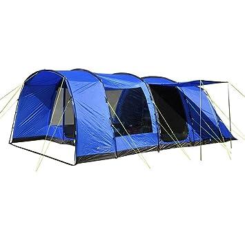 Eurohike H&ton 6 Man Family Tent Blue One Size  sc 1 st  Amazon UK & Eurohike Hampton 6 Man Family Tent Blue One Size: Amazon.co.uk ...