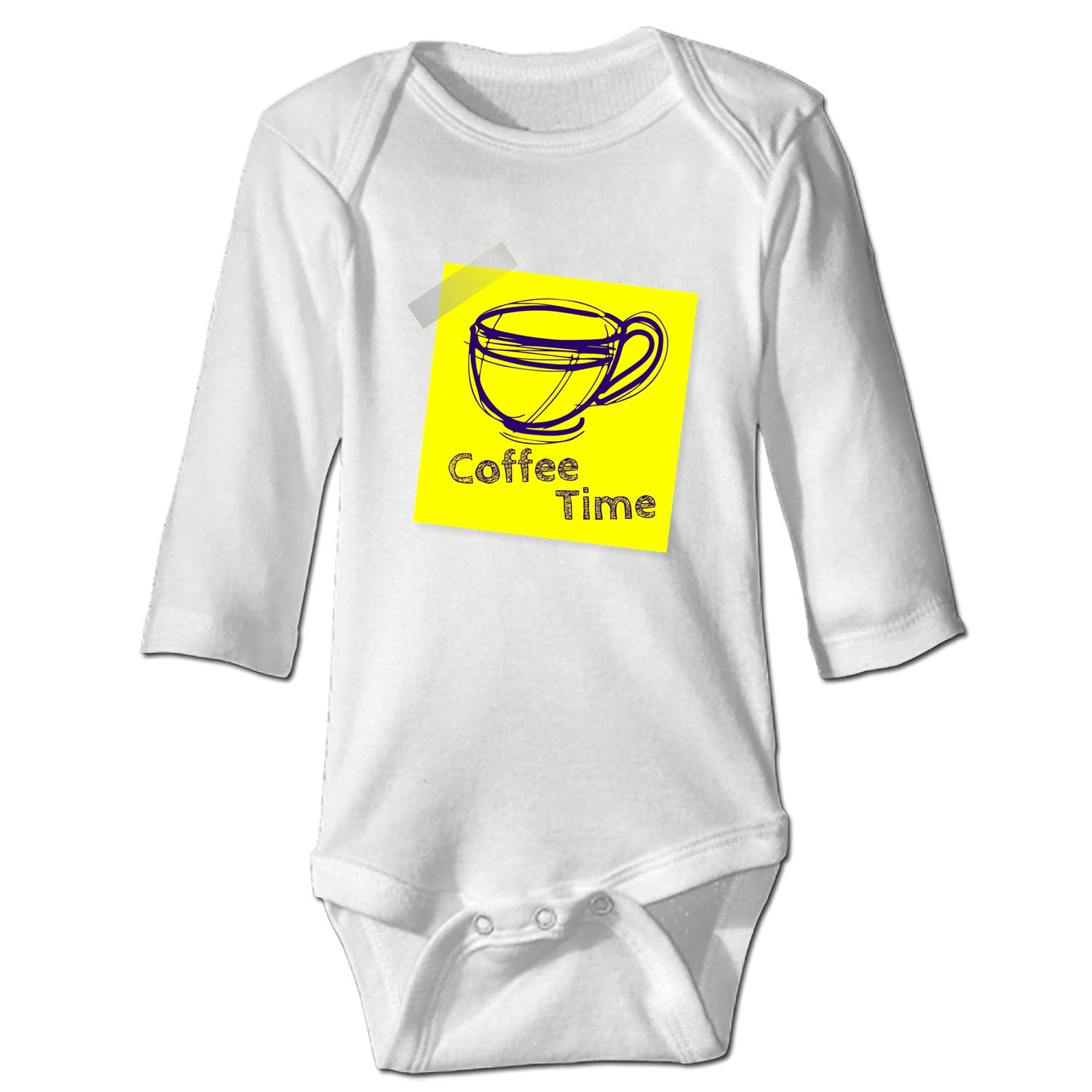 farg Baby Clothing Enjoy Coffee Time Funny Baby Bodysuit