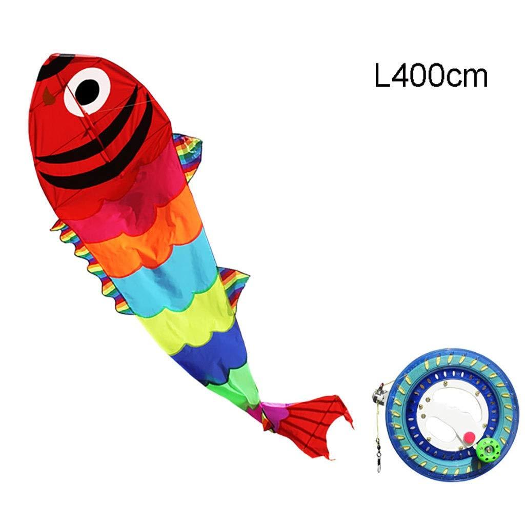 centro comercial de moda - GCCometa 4.9ftx13.1ft 4.9ftx13.1ft 4.9ftx13.1ft Fish Kite con uomogo y Cadena para niños Adultos Niños y Niñas-300m String  la mejor oferta de tienda online