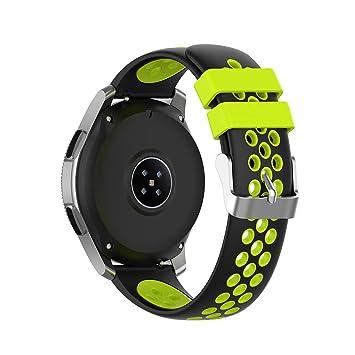 XIHAMA Correa para Samsung Gear S3 Frontier/Classic, Bracelet de ...