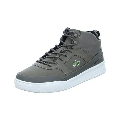 970e63917e Lacoste explorateur Mid Sport Sneaker Uomo, grigio/marrone: Amazon ...