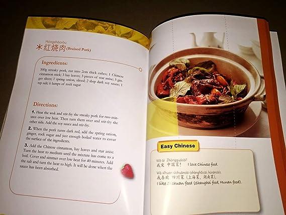 Me encanta la comida china (versión en inglés) Recetas fáciles China fácil Los extranjeros aprenden la cocina china Los platos chinos simples y deliciosos ...