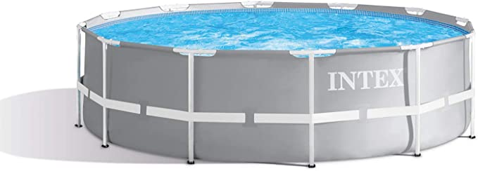 Intex 28917 - Marco de metal para piscina (366 x 91 cm): Amazon.es: Jardín