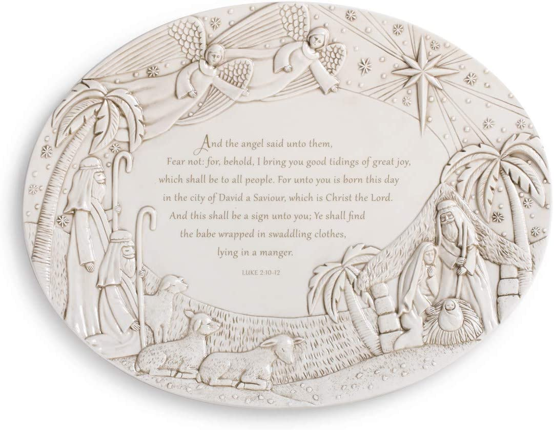 Nativity Scene Cream 17 x Popularity 13 Christmas Earthenware Servi Sales of SALE items from new works Ceramic