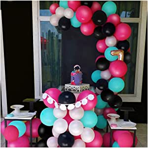 Theme Birthday Party Supplies For Boys Girls Adults Party Favors(red) Tiktok Balloons,Tiktok Party Decorations Include 2pcs Tiktok Foil Balloon,4pcs Musical Note Balloons And 10pcs Colorful Balloons
