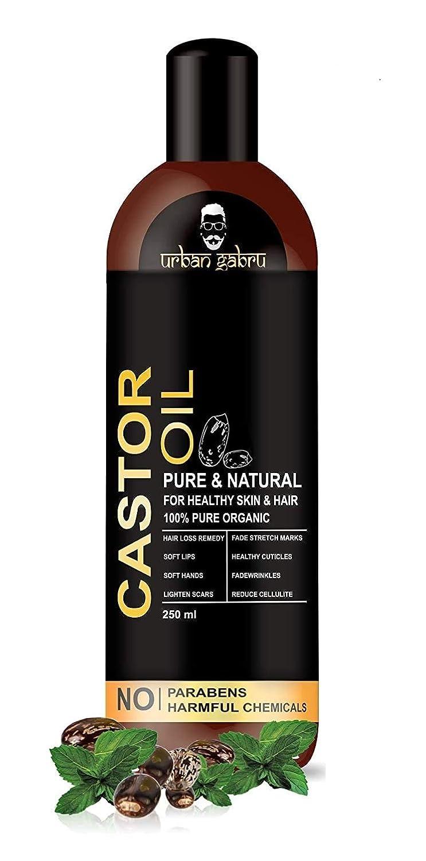 UrbanGabru Cold Pressed Castor Oil for hair