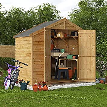 treated shedswarehouse windowless wooden garden sheds pressure shed overlap com wood apex cat x