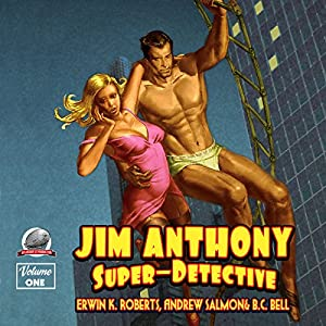 Jim Anthony: Super-Detective Audiobook