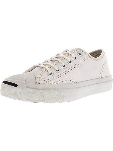 e53d6a44f9fb Converse Women s Jp Jack Ox White Ankle-High Fashion Sneaker - 4.5M