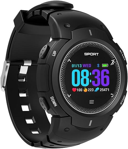 Reloj inteligente con Bluetooth, resistente al agua IP68, pantalla ...
