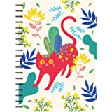 Siixu Large Writing Notebook, Hard Cover Note Book to Write in, College Ruled Paper, Lovely Animal Design, 136 Pages, B5…