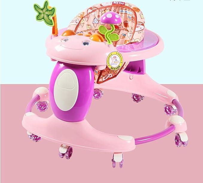 Andador de bebé con ruedas y música multifunción infantil ...