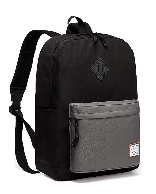 97b28da429d2 Lightweight School Backpack, Kasqo Water-Resistant Travel Backpack Casual  Daypack for Men, Women, Teenagers