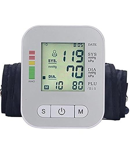 D & F medidor de presión de brazo/Tensiómetro? La Voz Real inteligente la