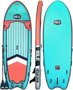 Amazon.com: ISLE Surf & SUP Megalodon - Tabla hinchable de ...