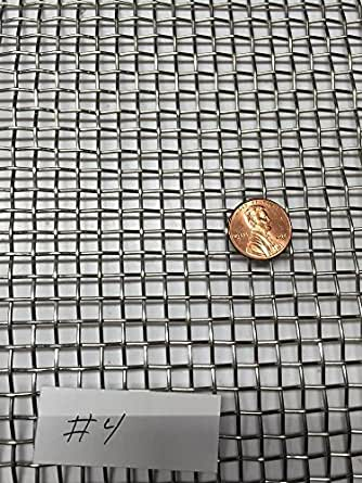 """Stainless Steel Crimped 304 Mesh #2 .063  Cloth Screen 6/""""x36/"""""""
