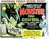 Monster from Green Hell POSTER Movie (1958) Style A 11 x 14 Inches - 28cm x 36cm (Jim Davis)(Robert Griffin)(Joel Fluellen)(Barbara Turner)(Eduardo Ciannelli)