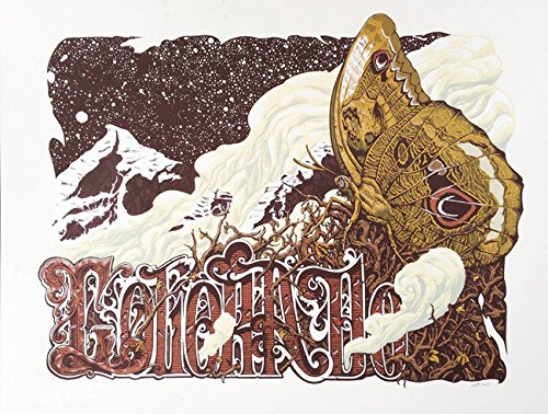 Colorado Limited Edition Screen Printed Poster x/100
