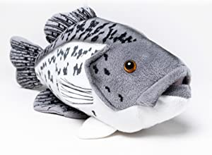 """Cabin Critters Black Crappie Plush Toy 12.5"""" Long"""