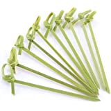 JapanBargain Bamboo Skewers, Twisted End, 4""