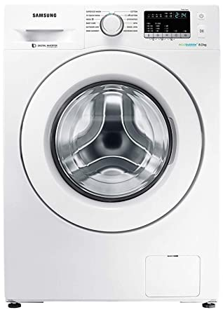 Samsung 8 Kg Inverter Fully Automatic Front Loading Washing Machine Ww80j4243mw Tl White Inbuilt Heater Eco Bubble Amazon In Home Kitchen