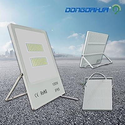 Cool white, 50W : led projector 10W 20W 30W 50W 70W 100W outside led lamp reflector ip65 waterproof led flood light 176V-265V